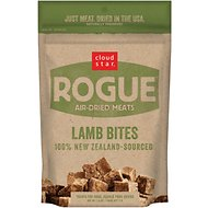 Cloud Star Rogue Air-Dried Lamb Bites Dog Treats, 2.5-oz bag