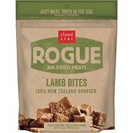 Cloud Star Rogue Air-Dried Lamb Bites Dog Treats, 6.5-oz bag