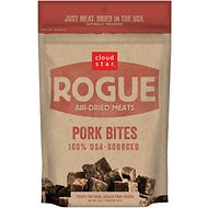 Cloud Star Rogue Air-Dried Pork Bites Dog Treats, 3-oz bag