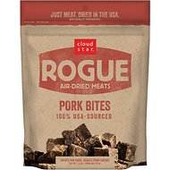 Cloud Star Rogue Air-Dried Pork Bites Dog Treats, 7.8-oz bag