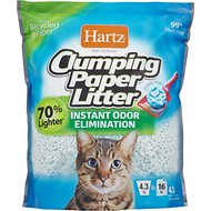 Hartz Multi-Cat Strong Unscented Clumping Paper Cat Litter