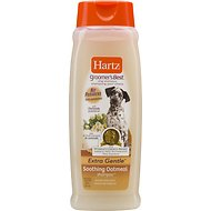 Hartz Groomer's Best Soothing Oatmeal Dog Shampoo, 18-oz bottle