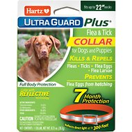 Hartz UltraGuard Plus Reflect-X Flea & Tick Collar for Large Dogs, 1 count