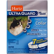 Hartz UltraGuard Plus Flea & Tick Collar for Cats, 1 count