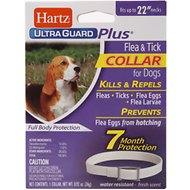 Hartz UltraGuard Plus Flea & Tick Collar for Dogs, Large