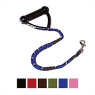 EzyDog Cujo Shock Absorbing Dog Leash, Blue, 25-in