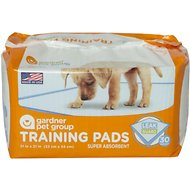 Gardner Pet Group Super Absorbent Training Pads, 30 count