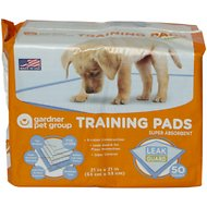 Gardner Pet Group Super Absorbent Training Pads, 50 count