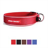 EzyDog Neo Classic Dog Collar, Red, Large
