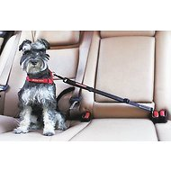 EzyDog Click Adjustable Seat Belt Restraint, Black