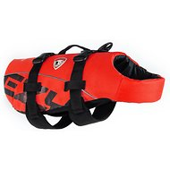 EzyDog Doggy Flotation Device Life Jacket, Red, Small