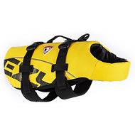 EzyDog Doggy Flotation Device Life Jacket, Yellow, Small
