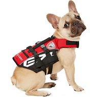 EzyDog Micro Doggy Floatation Device Life Jacket, XX-Small, Red