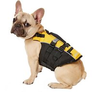 EzyDog Micro Doggy Flotation Device Life Jacket, Yellow, XX-Small
