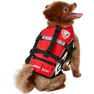 EzyDog Micro Doggy Flotation Device Life Jacket, Red, X-Small