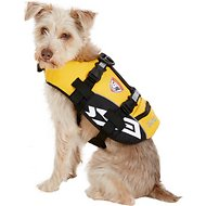 EzyDog Micro Doggy Flotation Device Life Jacket, Yellow, X-Small