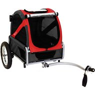DoggyRide Dog & Cat Mini Bike Trailer, Red
