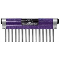 Resco Wrap Comb for Dogs, Cats & Small Pets, Medium 1.5-in Pin, Sparkle Purple