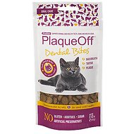 ProDen PlaqueOff Dental Bites Cat Treats, 2.12-oz bag