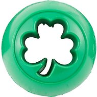 Planet Dog Orbee-Tuff Nooks Shamrock Interactive Dog Toy, Green