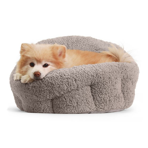 best-friends-by-sheri-orthocomfort-sherpa-deep-dish-cuddler-dog-&-cat-bed by best-friends-by-sheri