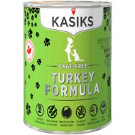 KASIKS Cage-Free Turkey Formula Grain-Free Canned Cat Food, 12.2-oz, case of 12