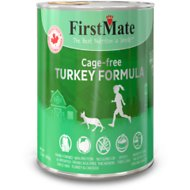 FirstMate Turkey Formula Limited Ingredient Grain-Free Canned Cat Food, 12.2-oz, case of 12