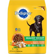 Pedigree Healthy Weight Complete Nutrition Roasted Chicken & Vegetable Flavor Dry Dog Food, 28-lb bag