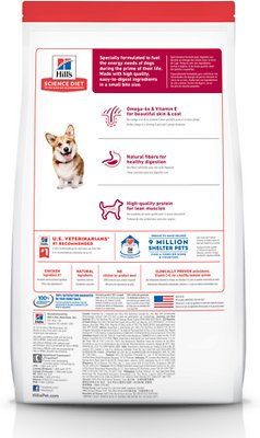 Hill's Science Diet Adult Small Bites Chicken & Barley Recipe Dry Dog Food