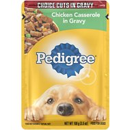 Pedigree Choice Cuts Chicken Casserole in Gravy Wet Dog Food, 3.5-oz, case of 16