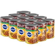 Pedigree Choice Cuts in Gravy Country Stew Canned Dog Food, 13.2-oz, case of 12