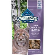 Blue Buffalo Wilderness Chicken Formula Crunchy Grain-Free Cat Treats, 2-oz bag