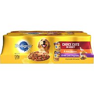 Pedigree Choice Cuts In Gravy Variety Pack Chicken & Lamb Canned Dog Food, 13.2-oz, case of 12