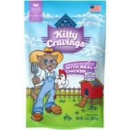 Blue Buffalo Kitty Cravings Chicken Crunchy Cat Treats, 2-oz bag
