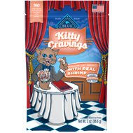 Blue Buffalo Kitty Cravings Shrimp Crunchy Cat Treats, 2-oz bag