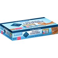 Blue Buffalo Healthy Gourmet Kitten Multi Pack with Chicken Entrée Cat Food Trays, 3-oz, case of 6