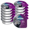 Blue Buffalo Wilderness Trail Trays Beef Grill Formula Grain-Free Dog Food Trays