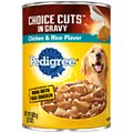 Pedigree Choice Cuts in Gravy With Chicken & Rice Canned Dog Food