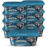 Blue Buffalo Wilderness Trail Tubs Chicken Stew Grain-Free Dog Food Trays, 8-oz, case of 8