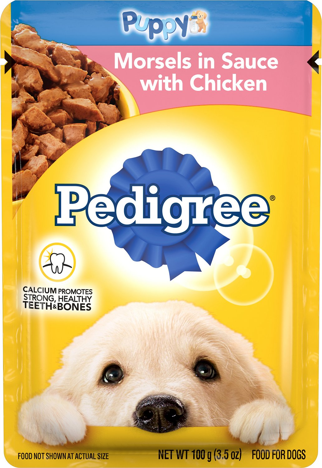 Pedigree Choice Cuts Puppy Morsels In Sauce With Chicken Wet Dog