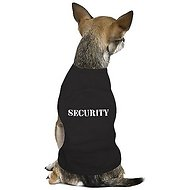 Parisian Pet Security Dog T-Shirt, Medium