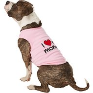 Parisian Pet I Love Mommy Dog & Cat T-Shirt, Pink, 5X-Large