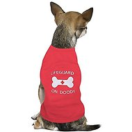 Parisian Pet Lifeguard On Doody Dog T-Shirt, X-Small
