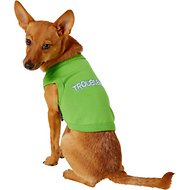 Parisian Pet Troublemaker Dog & Cat T-Shirt, Small