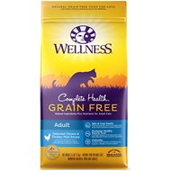 Wellness Complete Health Natural Grain Free Deboned Chicken & Chicken Meal Dry Cat Food, 5.5-lb bag