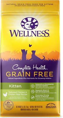 1. Wellness Natural's Complete Health Kitten Formul