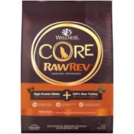 Wellness CORE RawRev Natural Grain Free Original Turkey & Chicken with Freeze Dried Turkey Dry Dog Food, 10-lb bag