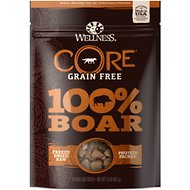 Wellness CORE Grain Free 100% Boar Freeze Dried Natural Dog Treats, 2-oz bag
