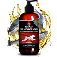 Pure Paw Nutrition Dog, Cat & Small Animal Wild Alaskan Salmon Oil, 8-oz bottle