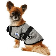 TechNiche International Evaporative Cooling Dog Coat, Silver, X-Small